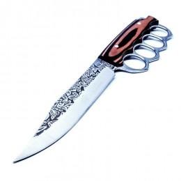SK8 Hunting Knife & Brass Knuckles