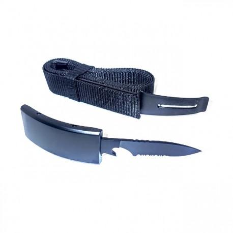 """KP01 Belt """"GRIZZLY"""" Hidden Steel Knife"""