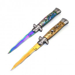 KS42 Super Italian Stiletto Switchblade Automatic Knife
