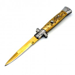 KS43 Super Italian Stiletto Switchblade Automatic Knife