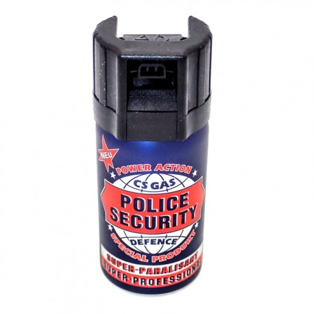 PS04 CS Gas Spray POLICE Security