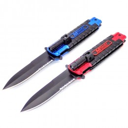 KS03 Semiautomatic Knife Flashlight
