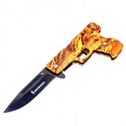 KS05 Spring Assisted Pistol Semiautomatic Knife