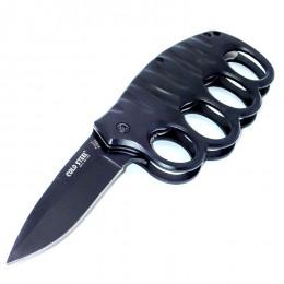 KS08 Semiautomatic Knife - Brass Knuckles