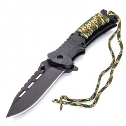 KS15 Semiautomatic Fixed Blade Survival Knife