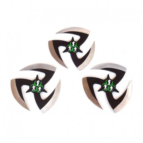 NS02 Set Ninja Stars. Shurikens