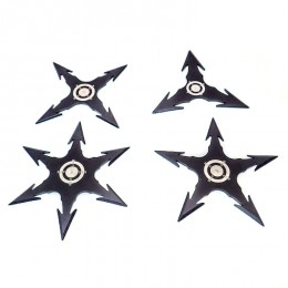 NS03 Set Ninja Stars. Shurikens