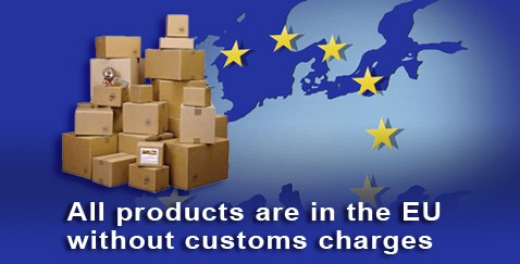 all product are in the EU without customs charges
